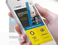 ITMAM - Website Design concept