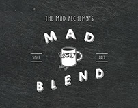 Mad Blend Coffee Label