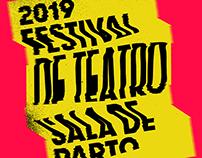 Festival de teatro Sala de parto 2019 / Identity