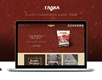Adaptive design of the site Galсa.ua
