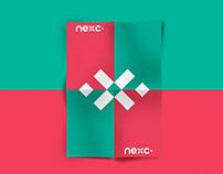Nexc - logo and branding identity