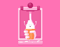 Soft Serve - Animated Gif