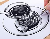 Logo cafe Bardak Moscow