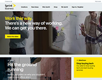 Sprint Business Digital Experience