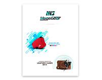 Megagear landing page / banner design