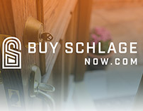 Buy Schlage Now.com Branding