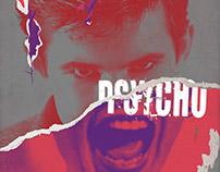 """Psycho"" Movie Poster"