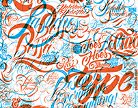 Lettering Collection - Oct 2015