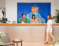 WeWork_Office Artworks Shanghai West Nanjing Rd.
