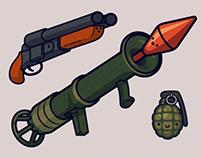 Cute Kawaii Weapons