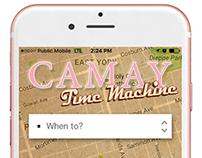Brand platform: Camay Time Machine