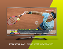 OYUN SET VE MAÇ | TENNIS SPORT SHOW GRAPHICS