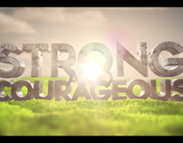 Strong and Courageous | Bumper