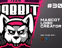 RABBIT - E Sports Logo Creator