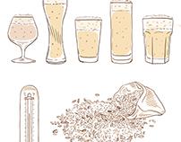 Cerveja também tem corpo?