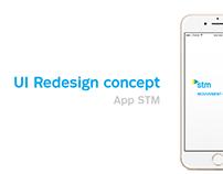 App STM - UI Redesign