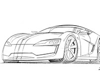 Sketches d'automobiles 2014-2015