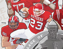 Rutgers College Football 150th Anniversary