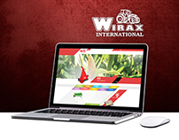 Wirax Website design
