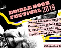 Edible Book Festival 2019 Poster