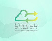 Sharek System | Logo, Branding and Application