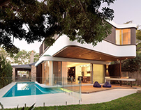 The Pool House by Luigi Rosselli