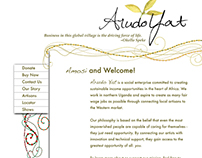 Arudo Yat Website Design