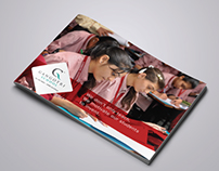 Gangotri School | brochure design