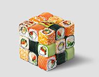 sushi cube