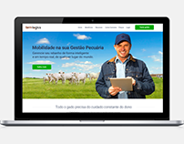 Site Farmlogics e landing pages