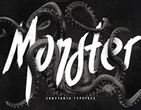 Constanta Typeface by Maulana Creative