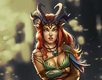 Elven Character Concept