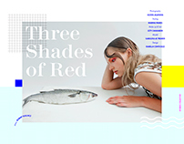 THREE SHADES OF RED | Stories Collective