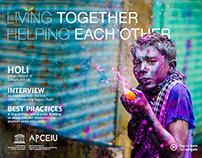 Living Together Helping Each Other - Mock Publication