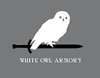 White Owl Armory Logo