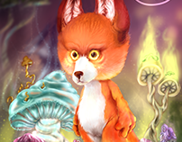Fox in mushroom kingdom
