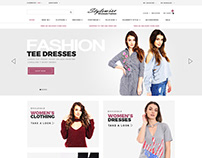 E commerce web design for stylewise