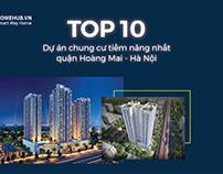 TOP 10+ Chung cư quận Hoàng Mai đang mở bán giá TỐT