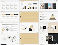 28+ beige fashion Annual Work PowerPoint template