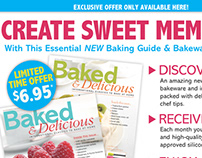 Baked Delicious Creative Direction & Direct Response