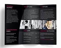 Grafikdesign / Broschüre beperfect modestyling