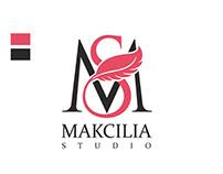 """Logo for """"Makcilia Studio"""""""