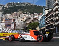 2018 MP Motorsport F2 Livery