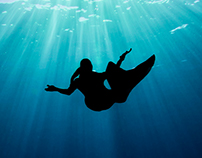 Fairfax Mermaid: Underwater Fantasy shoot