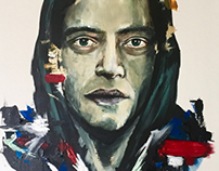 MR ROBOT / Paint
