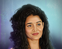 Ritika Singh | Portrait Digital Painting