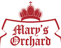 Logo Design for Mary's Orchard