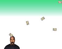 Kanyestarter - LOL worthy web game
