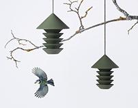 Bird silo, brand pictures