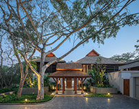 PRIVATE RESIDENCE BY GROUND ARCHITECTS : EXTERIOR